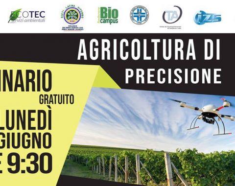 Fondazione Bio Campus - Seminario sull'agricoltura di precisione - 11 giugno 2018