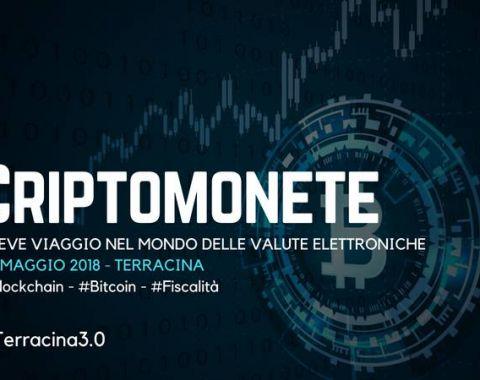 Criptomonete - Incontro Gratuito - Terracina 26 Maggio 2018